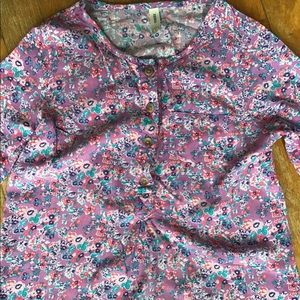 Girls Nevada Floral Blouse
